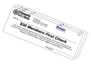 Ellsworth Area Chamber Bucks