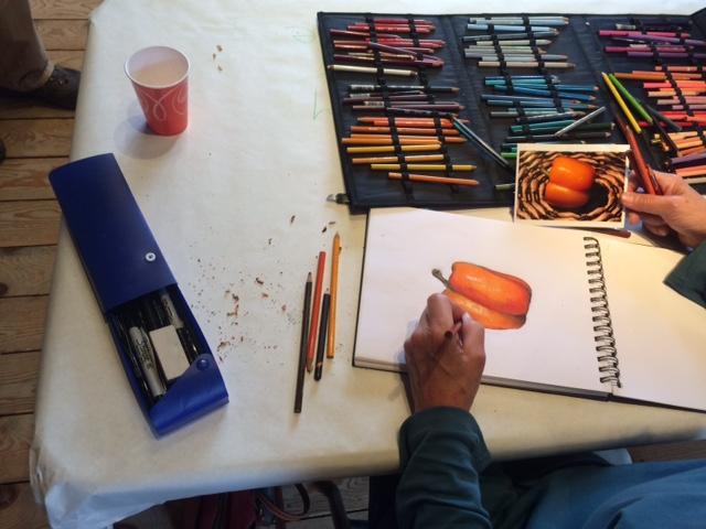 Colored Pencil Drawing Techniques With Artist John Delmastro
