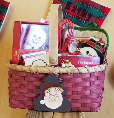 Christmas Basket giveaway
